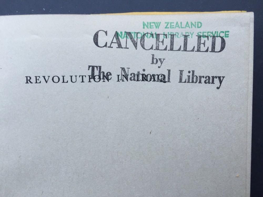 Revolution Cancelled
