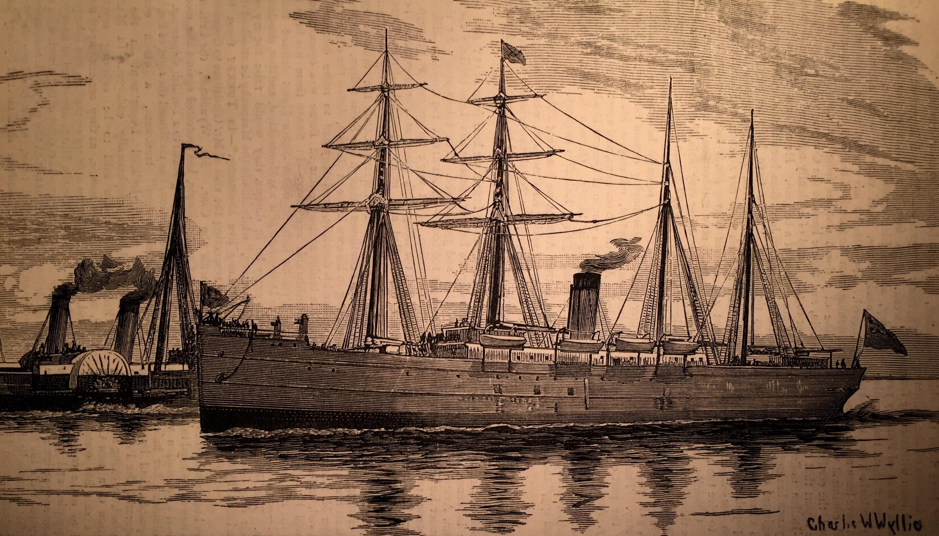 Pembroke Castle Steamer